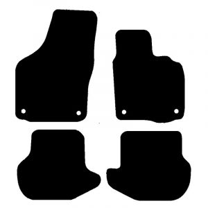 Volkswagen EOS (2006-2015) Fully tailored rubber car mat set