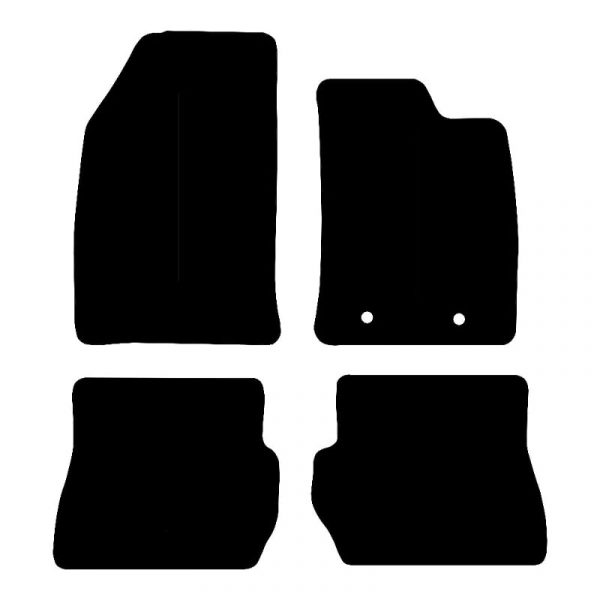 Ford Fusion (2002-2012) Fully tailored rubber car mat set
