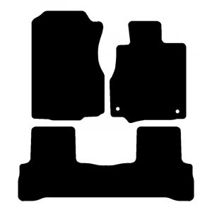 Honda CRV (2006-2010) Fully tailored rubber car mat set