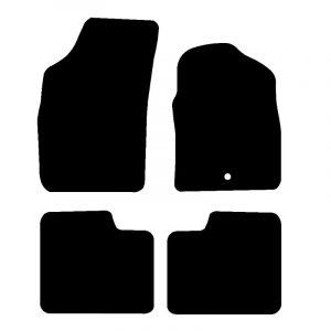 Fiat 500 (2007-2012) Fully tailored rubber car mat set