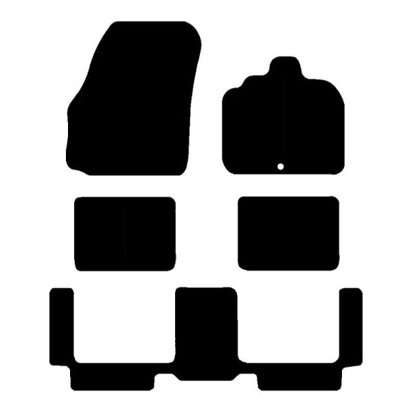 Renault Grand Scenic (2003-2009) Fully tailored car mat set