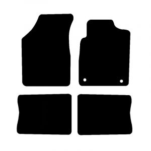 Renault Clio (1998-2005) Fully tailored rubber car mat set