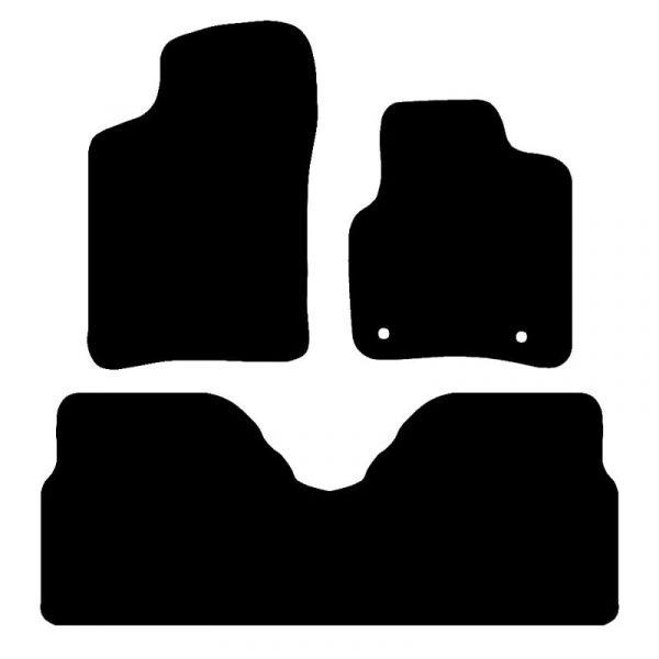 Renault Scenic (1999-2003) Fully tailored car mat set