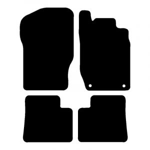 Mercedes ML  (2005 – 2012) Fully tailored car mat set
