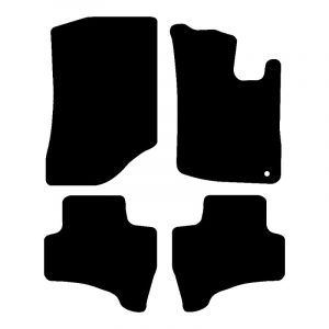 Citroen C1 (2005-2010) Fully tailored rubber car mat set