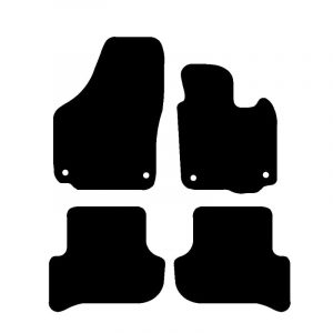 Skoda Yeti (2009-2018) Fully tailored car mat set