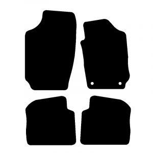 Skoda Fabia (2000-2007) Fully tailored car mat set