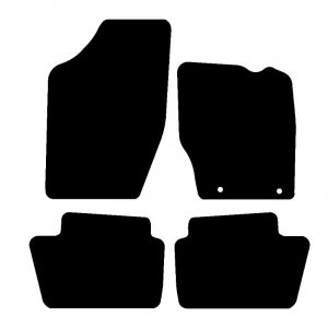 Citroen C4 (2004-2010) Fully tailored rubber car mat set