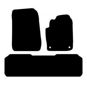 Citroen Xsara Picasso (2000-2010) Fully tailored rubber car mat set