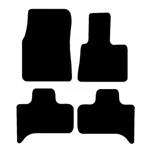 Renault Megane Coupe (2009-2018) Fully tailored car mat set