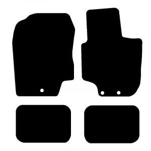 Hyundai i20 (2008-2009) Fully tailored rubber car mat set