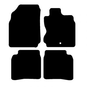 Nissan Note (2006-2013) Fully tailored car mat set