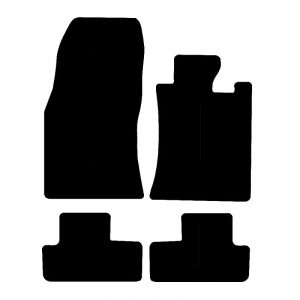Saab 95 (2010-2012) Fully tailored rubber car mat set