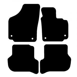 Seat Altea (2006-2008) Fully tailored car mat set