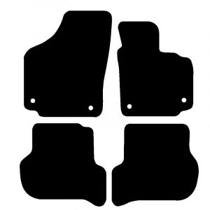 Seat Toledo (2006-2012) Fully tailored rubber car mat set