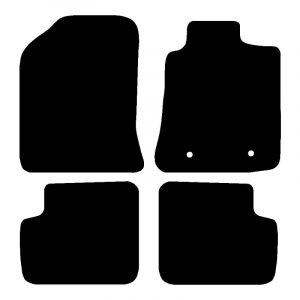 Toyota Corolla (2002-2007) Fully tailored rubber car mat set