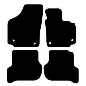 Seat Altea (2008-2018) Fully tailored rubber car mat set