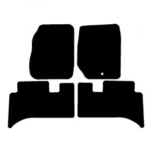 Land Rover Range Rover (1994-2002) Fully tailored car mat set