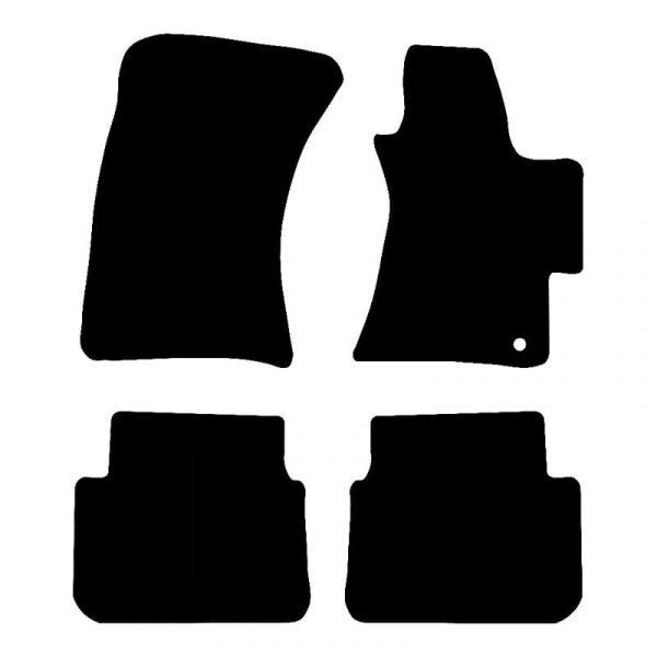 Subaru Outback  (2006 – 2010) Fully tailored car mat set