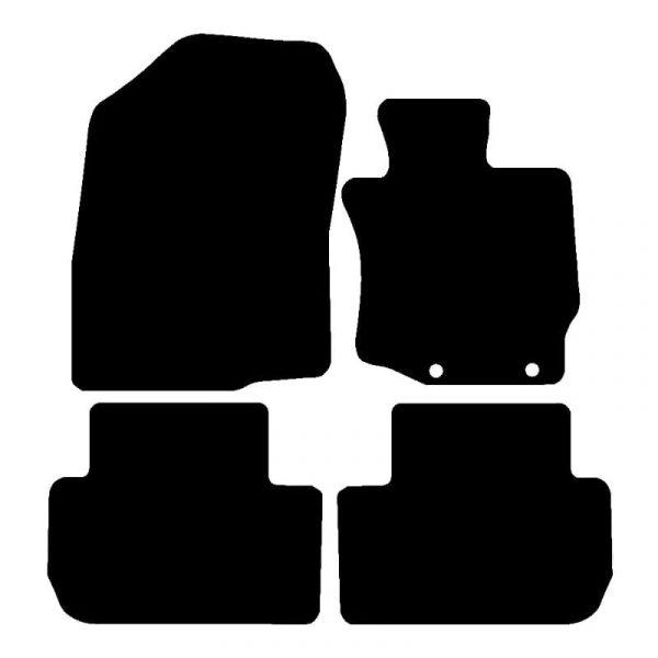 Mitsubishi Outlander  (2013 – 2020) Fully tailored car mat set