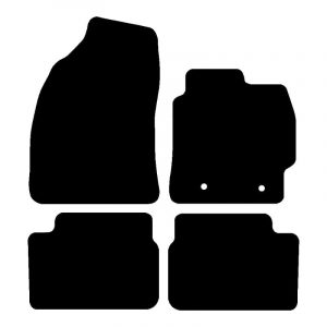 Toyota Corolla (2007-2013) Fully tailored rubber car mat set