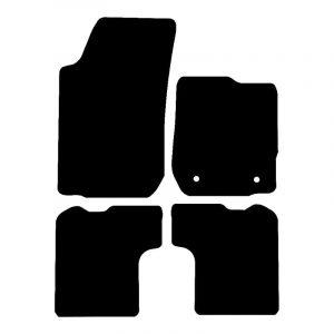 Dacia Sandero (2013-2018) Fully tailored rubber car mat set