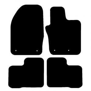 Fiat 500 (2015-2018) Fully tailored rubber car mat set