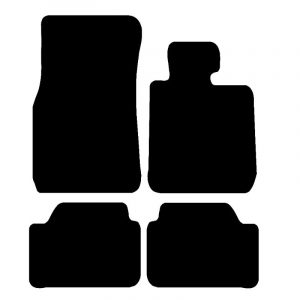 BMW 1 Series (F21) (2011-2018) Fully tailored rubber car mat set
