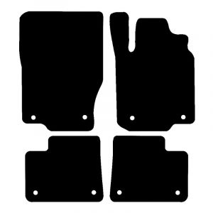 Mercedes ML (2012-2018) Fully tailored car mat set