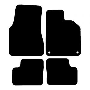 Renault Twingo (2014-2018) Fully tailored rubber car mat set