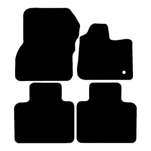 Renault Zoe (2012-2018) Fully tailored rubber car mat set