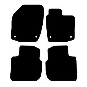 Seat Toledo (2013-2018) Fully tailored car mat set