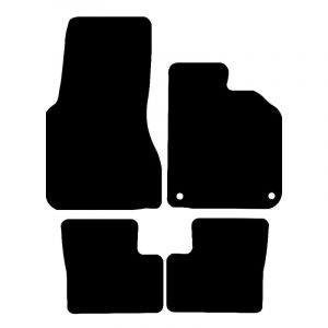 Smart ForFour (2015-2018) Fully tailored car mat set
