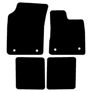 Chrysler Ypsilon (2011-2018) Fully tailored rubber car mat set