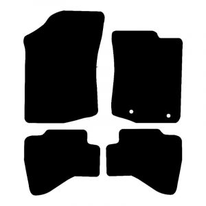 Toyota Aygo (2014-2020) Fully tailored rubber car mat set