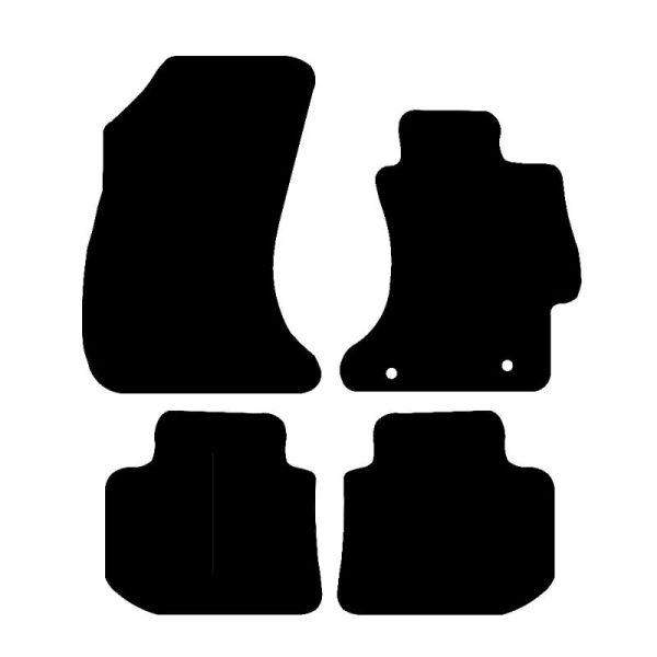 Subaru XV (2012-2018) Fully tailored rubber car mat set