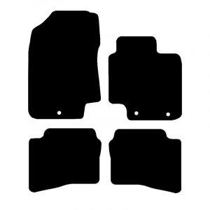 Hyundai i20 (2009-2014) Fully tailored rubber car mat set