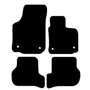 Skoda Superb (2002-2008) Fully tailored rubber car mat set