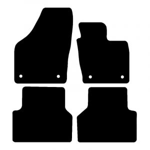 Iveco DAILLY (2002-2007) Fully tailored rubber car mat set