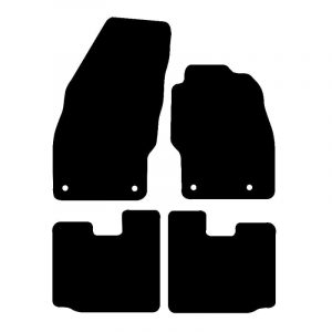 Vauxhall Adam (2012-2018) Fully tailored car mat set