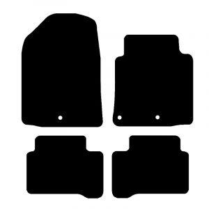Hyundai Ioniq (2016-2018) Fully tailored car mat set