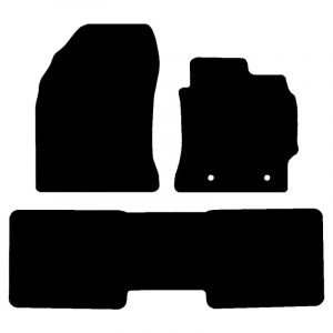 Toyota Corolla (2013-2018) Fully tailored rubber car mat set
