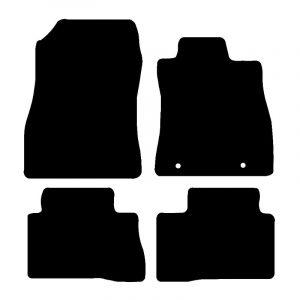 Nissan Juke  (2010 – 2018) Fully tailored car mat set