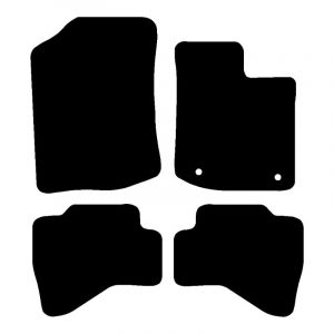 Toyota Aygo (2011-2014) Fully tailored rubber car mat set