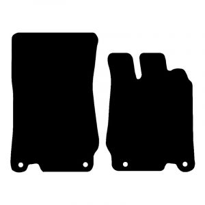 Mercedes SL (2002-2011) Fully tailored car mat set