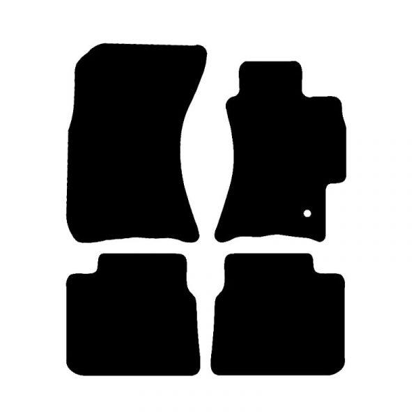 Subaru Legacy (2003-2009) Fully tailored rubber car mat set