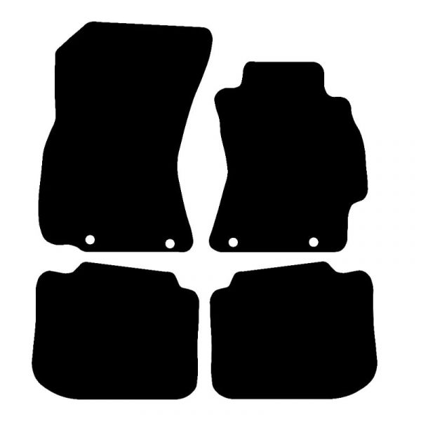 Subaru Legacy / Outback (2009-2014) Fully tailored rubber car mat set