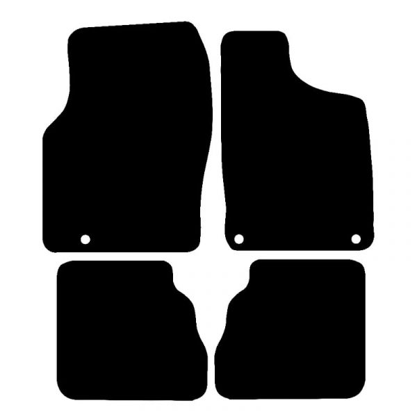Saab 93 (1998-2002) Fully tailored rubber car mat set