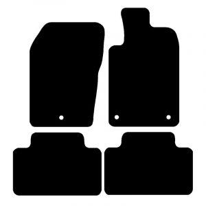 Chrysler Grand Cherokee (2010-2018) Fully tailored rubber car mat set