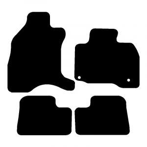 Citroen C-Zero (2010-2018) Fully tailored rubber car mat set